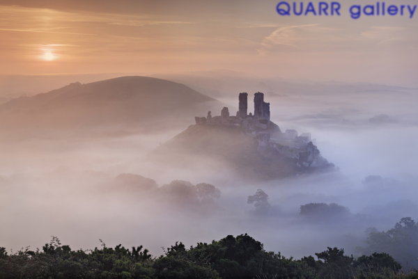 September Sunrise, Corfe Castle