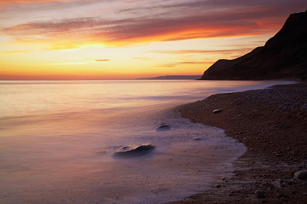 Sunset, Eype's Mouth