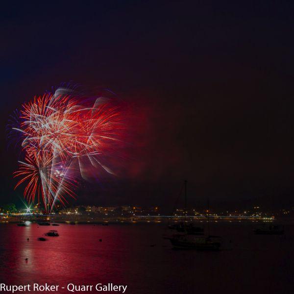 Swanage Fireworks, 2016, 2