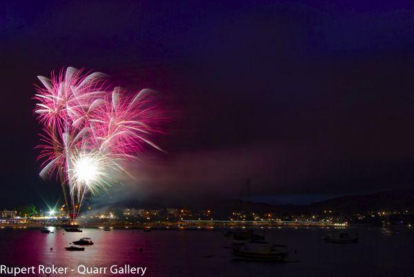 Swanage Fireworks, 2016, 3