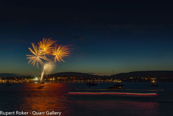 Swanage Fireworks, 2016 5