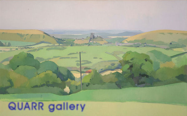 Towards the End of the Day, Corfe Castle SOLD
