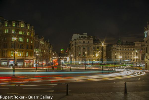 Trafalgar Square traffic 1