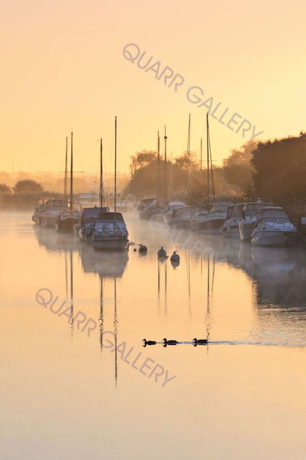 A Golden Morning, Wareham Quay