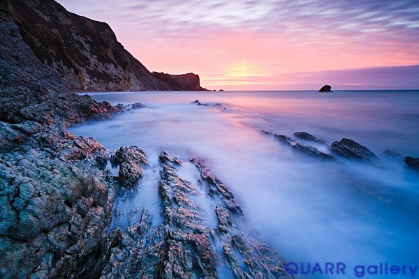 Winter Sunrise, Man o' War Bay No 4