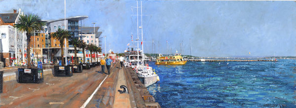 A Stroll Along Poole Quay SOLD