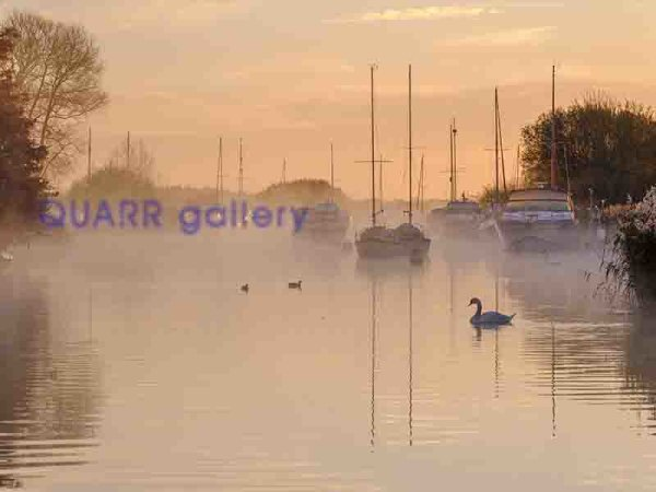 A Winter Morning, River Frome, Wareham