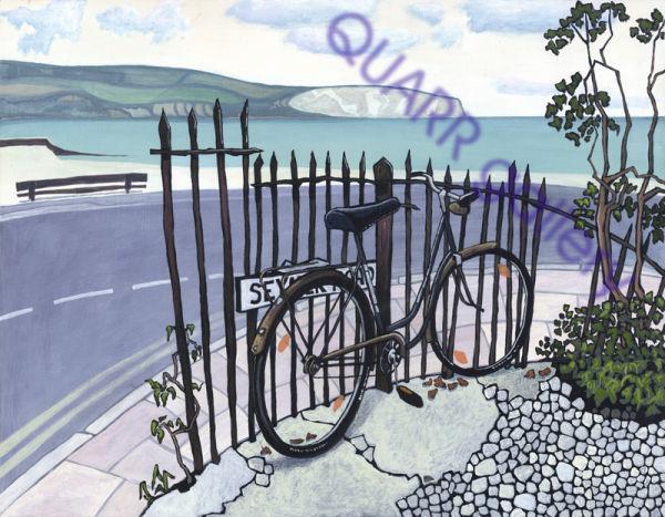 Bike, Swanage