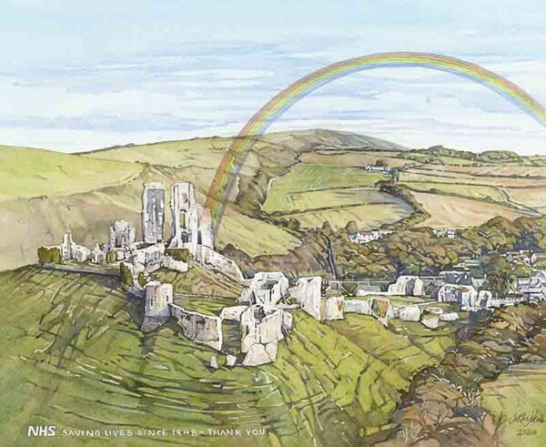 Rainbow, Corfe Castle