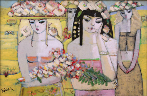 Four Girls From the Village SOLD