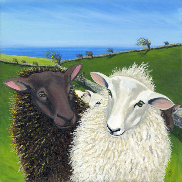 Well? Have you any Wool? SOLD