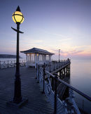 Watching the Sunrise, Swanage Pier