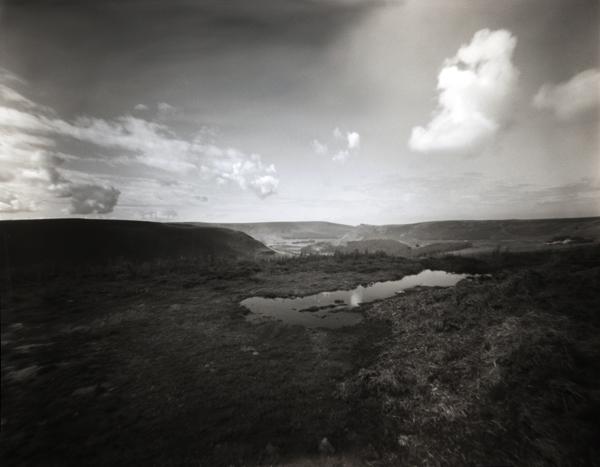 Saddleworth Moor. 5x4 Pinhole Camera.