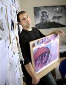 Artist and Illustrator, Chris Mould.