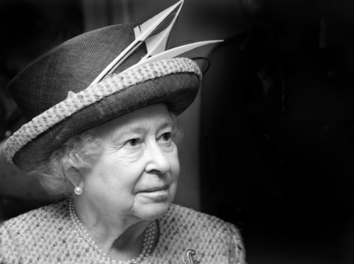 HRH Queen Elizabeth II. May 2015.