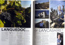Mount Pleasant, Michael Graham's most northerly vineyard in Britain at Bolton le Sands, Lancashire. 'Live Preston' magazine.