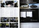 Mercedes Benz advert for 'Live Preston' magazine.