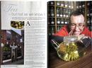 Mystery Tea House, Preston featured in 'Lancashire Magazine'.