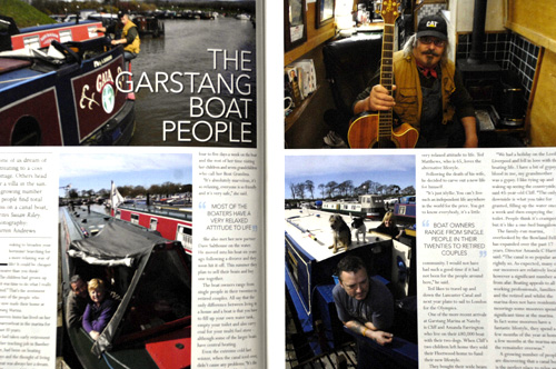 Garstang Marina feature.