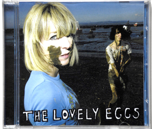 The Lovely Eggs, Cob Dominos cd cover. 2011.