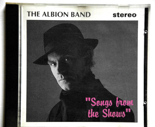 Ashley Hutchings portrait for the cd cover of 'The Albion Band. Songs from the shows'.