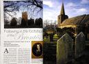 Charlotte Bronte feature, Tunstall. 'Lancashire Magazine'. July 2011.