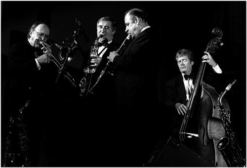 Chris Barber Jazz Band.