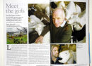 Dolphinholme Goats Cheese feature for Lancashire Magazine. January 2011.