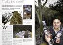 Bedrock Gin Magazine feature. Lancashire Magazine. 2011.