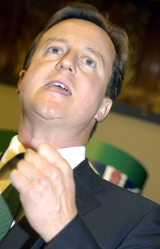 Prime Minister, David Cameron.
