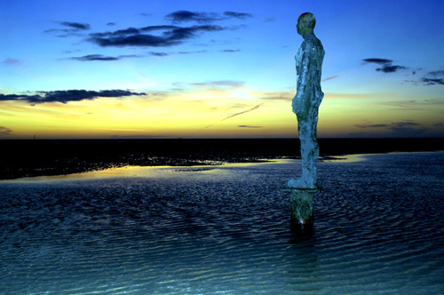 Gormley Statues, Crosby.