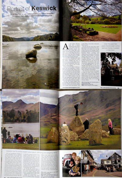 Magazine feature on Keswick.