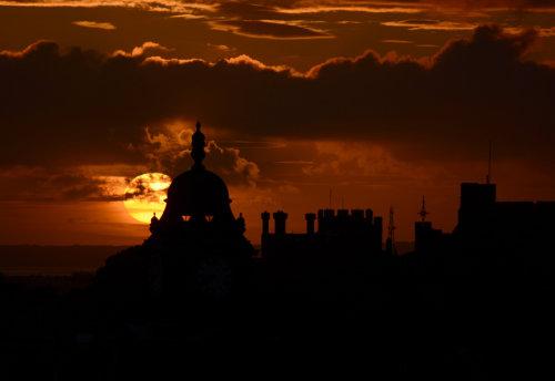 Sunset, Lancaster,