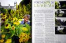 Chris Crowder, Head Gardener at Levens Hall. Live Preston Magazine. August 2011.