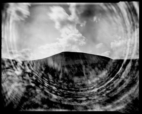 Pendle Hill. 5x4 Pinhole Photograph.