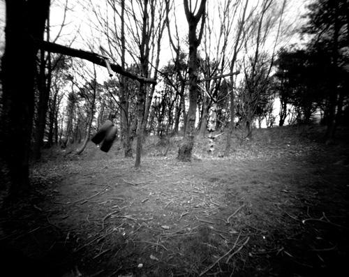 Home made 5x4 Pinhole camera.