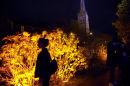Light up Lancaster Canal event.