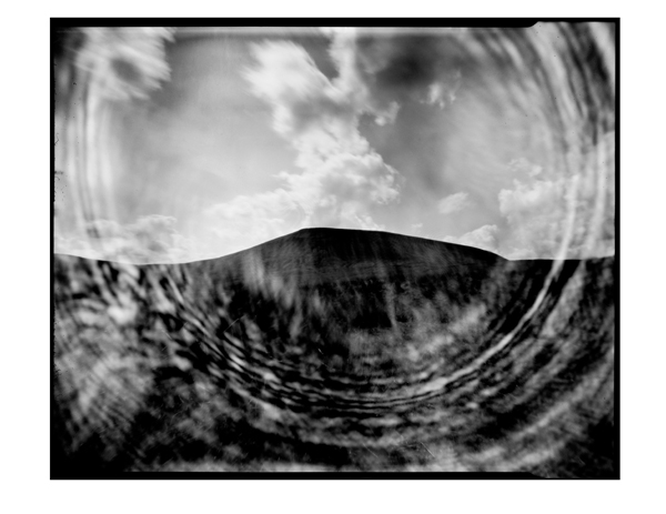 Pendle Hill. Pinhole photograph.