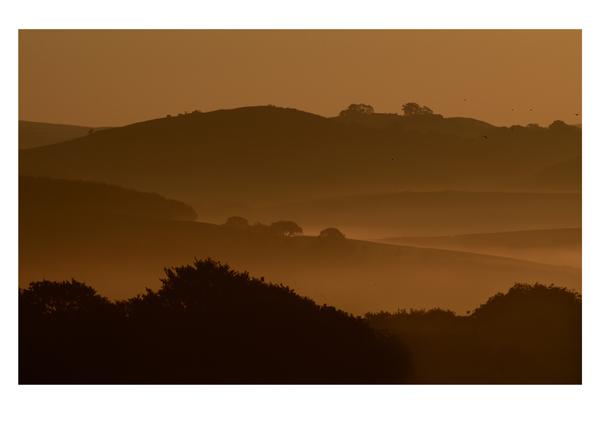 Forest of Bowland, Sunrise.