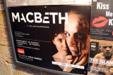 Poster for production of Macbeth. 2017.