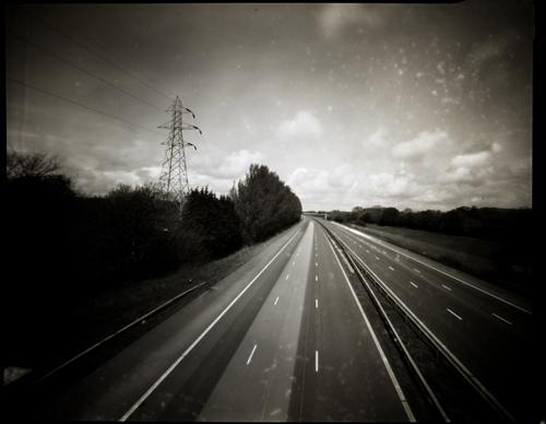 M6, Lancaster. Pinhole.