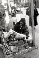 Homeless Man, Paris, France.