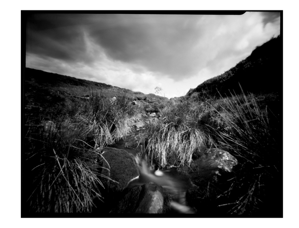 Trough Of Bowland. Pinhole Image.