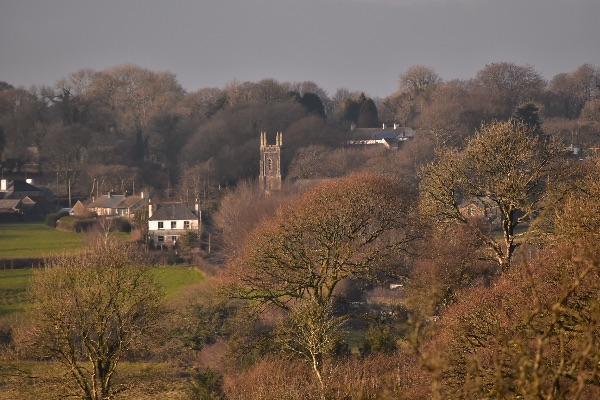 North Brentor village, January 2018