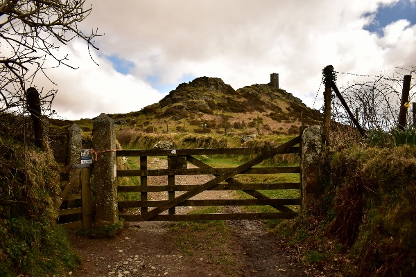 Gate at Brentor April 2018