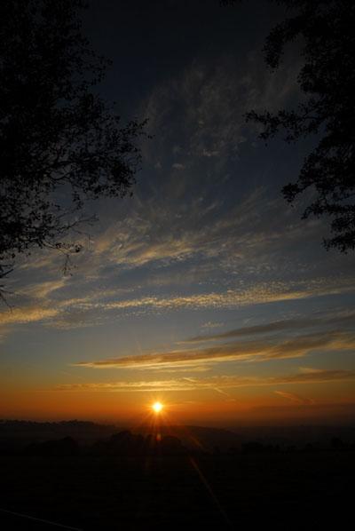 Sunset From Pew Tor Dartmoor