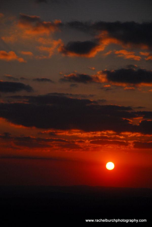 Sunset from Cox Tor Dartmoor II