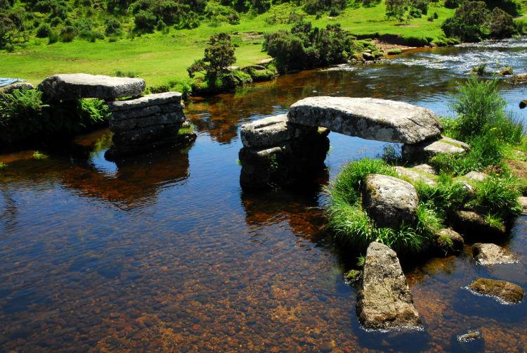 Bellever Clapper Bridge Dartmoor
