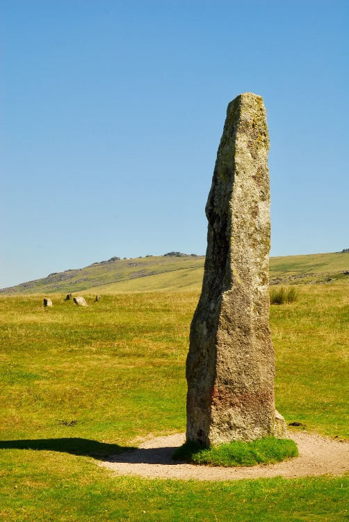 Merrivale long stone and stone circle, Merrivale