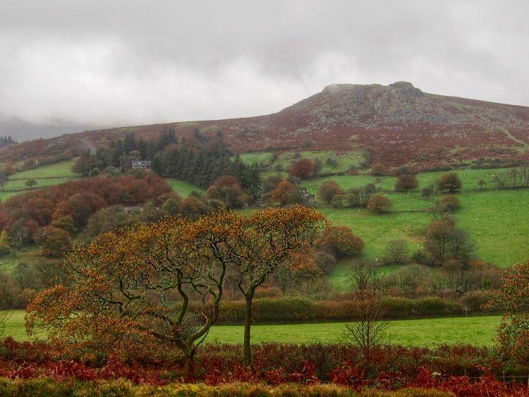 Sheepstor, Dartmoor, November 2015.